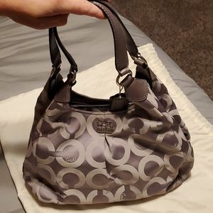 NWT Coach Madison Op Art Maggie Hobo Bag {MW}